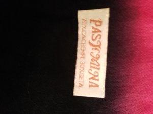 Pashmina Pashmina magenta-azul oscuro