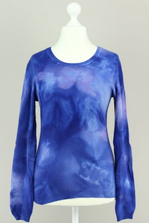 Cashmere People Pullover blau Größe M 1711040210747