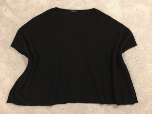 Darling Harbour Poncho negro Cachemir
