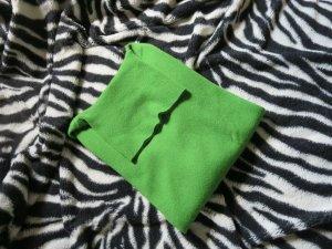 Maglione dolcevita verde Cachemire