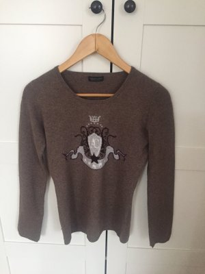 Appelrath-Cüpper Cashmere Jumper grey brown-taupe