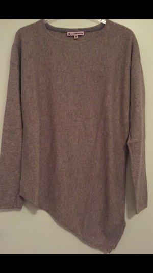 Cashmere Pullover asymmetrischer Schnitt