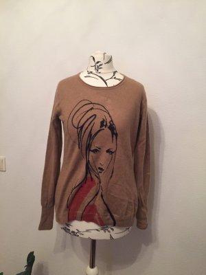 Cashmere Pullover braun