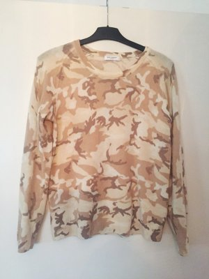 Cashmere Pullover Equipment Camouflage