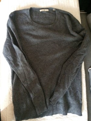 Cashmere Pullover grau 42