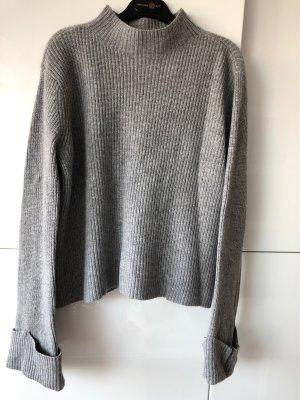 H&M Premium Sudadera de cachemir gris
