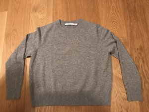 Cashmere Pullover , Grau, M