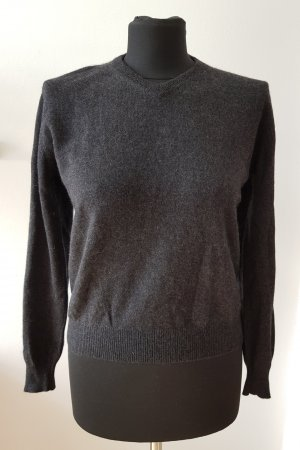 Cashmere Pullover in Anthrazit