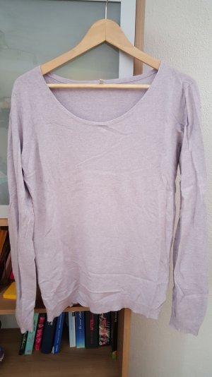 cashmere Pullover in Flieder