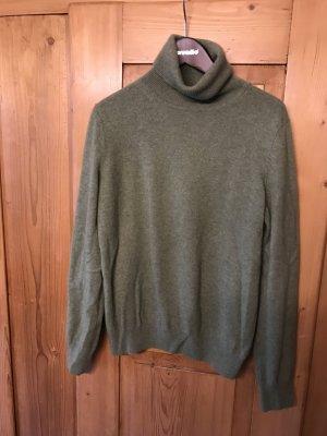 Cashmere Pullover in grün