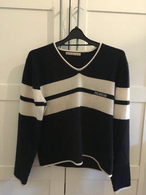Cashmere Pullover mit Aufschrift
