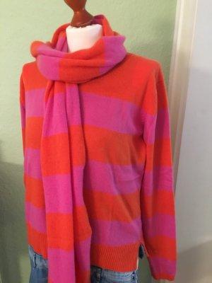 Cashmere-Pullover und -Schal von fTC, Größe 38