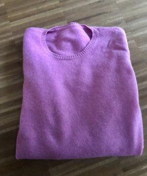 Cashmere Jumper neon pink
