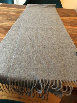 Écharpe en cachemire gris clair-gris cachemire