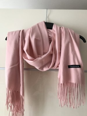 Cashmere Schal rosa