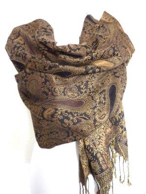 Cashmere Schal Tuch Stola Paisley Muster Fashion Überwurf
