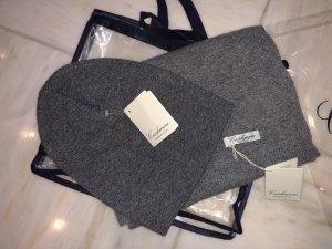 Cashmere Set Schal und Mütze neu