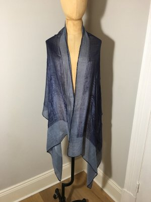 Cashmere Tuch Blau used top Zustand
