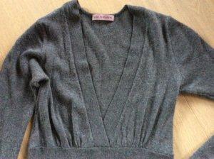 Cashmerekleid Kaschmirkleid Strickkleid Wollkleid dunkelgrau von Heldmann