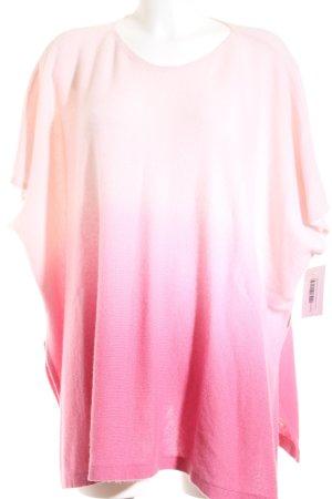 Cashmerepullover Farbverlauf schlichter Stil