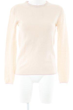 Cashmerepullover nude-rosé Casual-Look
