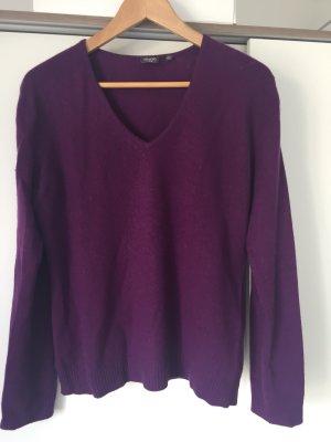 Adagio Sudadera de cachemir violeta