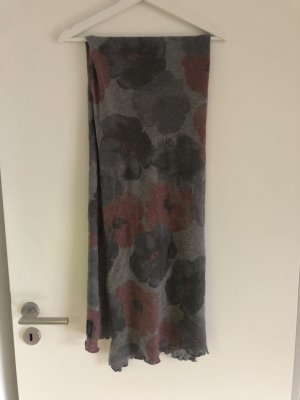Cashmere Scarf grey-brown red
