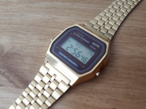 CASIO Armbanduhr (Cronograph Collection) goldf.