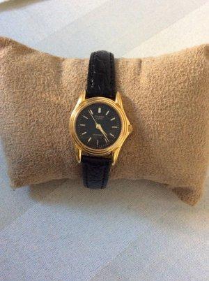 Casio Armbanduhr Schwarz Gold