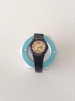 Casio Baby G Casio Baby G Neon Illuminator Gold Dial Women's Watch – BGA160-1B gebraucht kaufen  Wird an jeden Ort in Deutschland