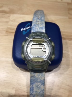 Casio Digital Watch azure