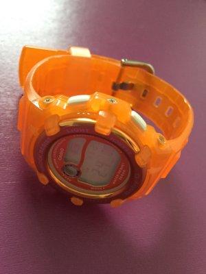 Casio Baby-G Digitaluhr Armbanduhr orange