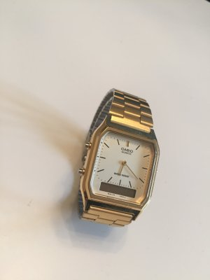 Casio Damen Uhr Gold