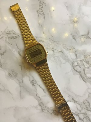 CASIO Damenuhr Gold