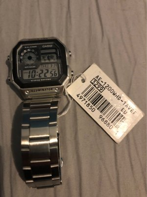 Casio digitale Armbanduhr
