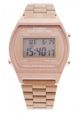 Casio Digitaluhr bronzefarben-goldfarben Casual-Look