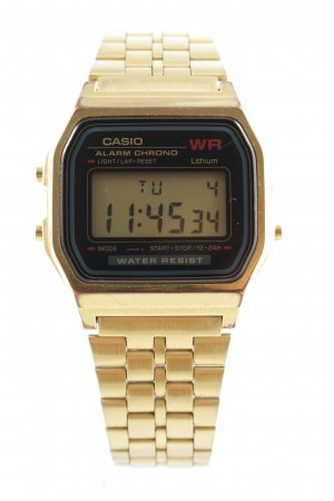 Casio Digitaluhr goldfarben Business-Look