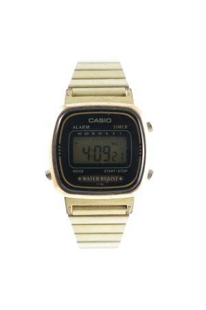 Casio Digitaluhr goldfarben-schwarz