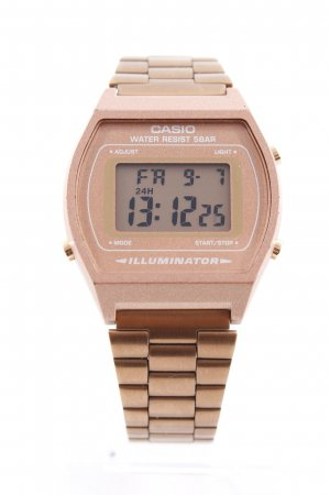 Casio Digital Watch rose-gold-coloured casual look