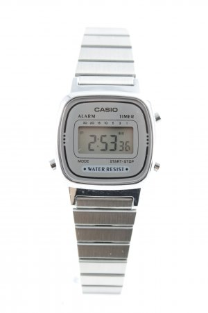 Casio Digital Watch silver-colored casual look