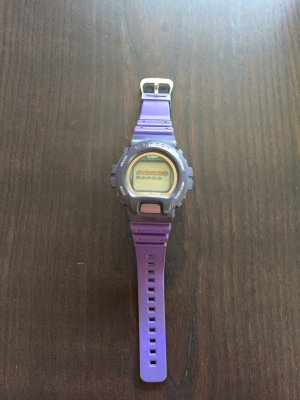 Casio Digital Watch dark violet