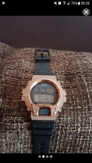 Casio G Shock Uhr mit strass