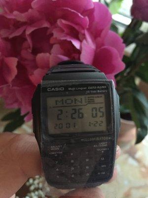 Casio schwarze Armbanduhr neu!