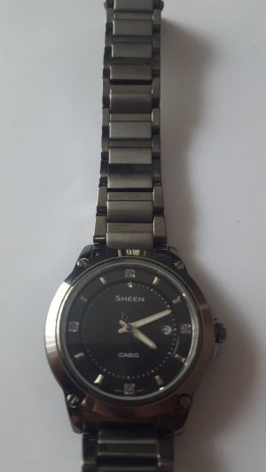 Casio Sheen SHE-4507BD-1AER Damenuhr Saphirglas 5 Bar
