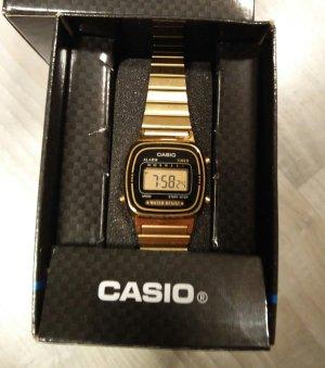 Casio - süße, kleine goldfarbene Uhr