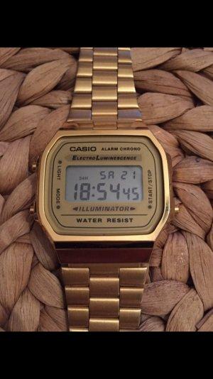 Casio Uhr, Armbanduhr, unisex, gold