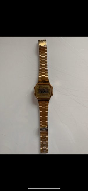 Casio Digital Watch gold-colored