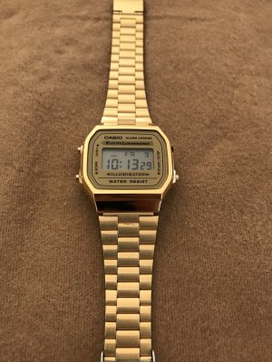 Casio Uhr Gold