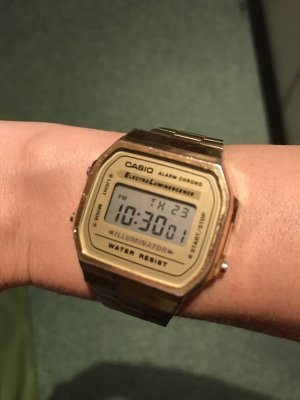 Casio Orologio digitale oro