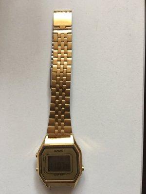 Casio Uhr Gold neu ungetragen